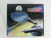 Vintage Motorcycle Hifi Stereo Speaker System With Mirrors 12v Dc 40 Watts New