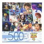 Toy Story 4 Puzzle 500 Piece Cardinal Jigsaw Puzzle 24 X 18 New Free Shipping