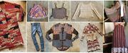 Lot Of 9 Free People Marc Jacobs Nwt Lilly Pulitzer Cheap Monday Sweater Jeans S
