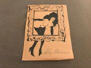 Leroy Neiman - Original/signed In Pencil - Femlin Looking Through Picture Frame,