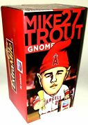 Mike Trout Gnome 27 Sga 2014 Los Angeles Angels Of Anaheim Chevron