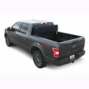 Leer Hf650m Hard Fold Tonneau Cover Matte Black For F250/f350 Sd 17-20 6.8and039 Bed