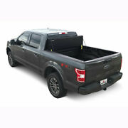 Leer Hf650m Hard Fold Tonneau Cover Matte Black For Canyon/colorado 15-20 6and039 Bed