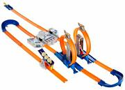 Hot Wheels Track Builder Total Turbo Takeover Track Set Fast Secure Shipping New