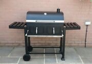 Super Grills Xxl Smoker Charcoal Bbq Portable Grill Garden Barbecue Grill New