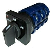Blue Sea 9019 Ship-to- Shore Replacement Switch Off +2 Position 3 Pole 65a