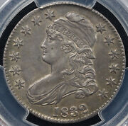 1832 50c Small Letters O-103 Capped Bust Half Dollar Pcgs And Cac Au 58