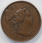 1794 1c S-47 Head Of 1794 Liberty Cap Large Cent Anacs Ef 40 Details