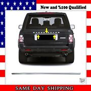 Chrome Rear Trunk Trim Cover S.steel For Range Rover L322 Vogue 2002-2012