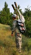 Hunting/cargo Back Pack With Custom Cargo/meat Sling Serious Comfort - Free Ship