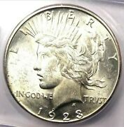1923-s Peace Silver Dollar 1 - Certified Icg Ms64 - Rare In Ms64 - Great Value