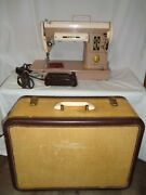 Vintage One Owner Singer 301a Portable Sewing Machine Very Nice Please Read