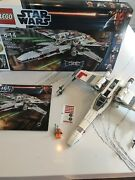 Lego Star Wars X-wing Starfighter 9493 Open Box Not Complete
