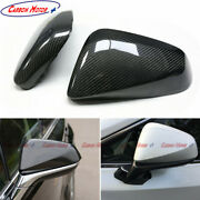Carbon Fiber Mirror Cover For Lexus Nx 2014+ Rx 2016+ Lhd Shell Casing Replace