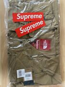 Supreme/the Cargo Jacket Gold Medium On Hand Will Instantly Ship