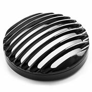 5 3/4 Headlight Grill Cover For Harley Davidson Dyna Low Rider Fxdl 1993-2009