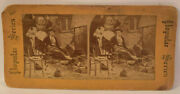 Vintage Stereoview Birth Of An Heir Popular Series Collectible Litho Photo L22