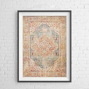 Lotus Trader - Botanical Charm Pattern Poster Picture Print Sizes A5 To A0 New