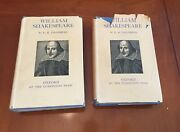 E.k. Chambers - William Shakespeare Vol. I And Ii - First Editions 1930