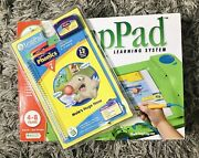 Leap Frog Leappad Learning System - Includes 2 Books+ Gift Book - New Open Box
