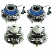 Front And Rear Wheel Bearing And Hub Assy Kit Timken For Impala Regal Fwd 4wheel Abs