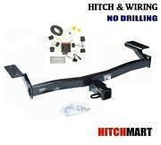 Class 3 Trailer Hitch And Tow Wiring Kit For For 2007-2010 Ford Edge, Lincoln Mkx