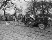 Old Photo Of 1948 A Fordson Major Tractor Fitted With Roadless Half Track