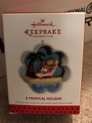 2013 Hallmark A Tropical Holiday Cookie Cutter Koc Event Exclusive
