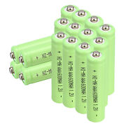 Lots Of 1.2v 600mah Aaa 3a Ni-mh Rechargeable Battery For Led Solar Light