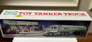 Vintage Mint In Box 1990 Hess Toy Tanker Truck With Dual Back-up Alert