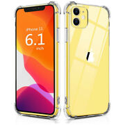 Five Pack Premium Iphone 11 And Xr Shockproof Thin Clear Case