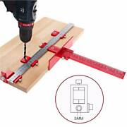 Drill Pro Cabinet Hardware Jig Inch/mm For Handles And Knobs Door Tools