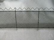 0 Scale Razor Wire Chain Link Fence 6and039+wire=8and039total High Security W/gates 5pcandnbsp