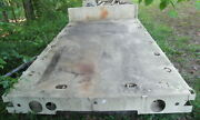 Mtv Military Truck Flat Bed Stake Body 14' 2 Long 94-1/2 Wide 34-1/2 Frame...