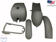 Fit For Royal Enfield Cafe Racer Body Parts Tank + Seat Hood + Fender
