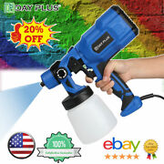 Electric Paint Sprayer Spray Gun For Airless Painting House Outdoor Fence Wall