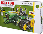 John Deere Erector Set By Meccano 9rt Series Tractor Ages 10+ Free Shipping