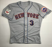 Vance Wilson 2000 Japan Opening Day Series New York Mets Game Used Issued Jersey
