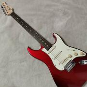 Schecter N-st-al Candy Apple Red Electric Guitar Made In Japan