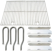 Gas Grill Replacement Parts Jenn Air Stainless Steel Burner Heat Plate Bbq Grid