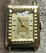 Jaeger-lecoultre Antique Cal.438 4cw Manual Winding Men's Watch 10k Gold Plated
