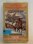 1990 Advanced Dungeons And Dragons Computer Product Ibm Rare W/hand Written Maps.
