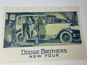 Antique Magazine Ad Dodge Brothers Motor Cars New Line Of Fours Advertisement