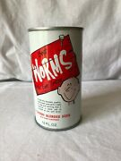 Vintage 1970and039s I Like Worms Soda Can Cherry Cola Best Worms You Ever Tasted