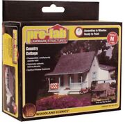 N Scale Woodland Scenics Pf5206 Landmark Structure Country Cottage Building Kit