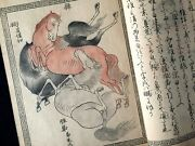 Chinese Ancient Historical Horses & Breed Pictorial Woodblock Print 3 Book Comp