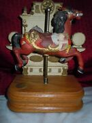 Vintage Tobin Fraley The American Carousel With Music Box/ltd 607/4500