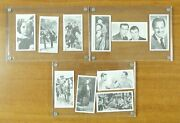 1954 Abc Film Star Cards Three Stooges Abbott Costello Etc. Lot Of 10 Cards Mint