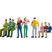 142 Scale O Gauge Hand Painted Layout Model Train People Figures