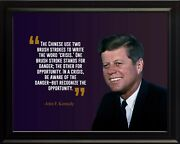 John F. Kennedy The Chinese Use Poster Print Picture Or Framed Wall Art